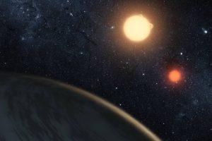 En la vida real el planeta Kepler-16b Foto:Vía nasa.gov. Imagen Por: