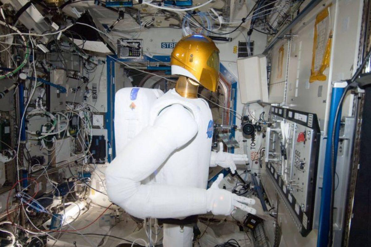 Robonaut 2, así luce el robot de la NASA. Foto:Vía nasa.gov. Imagen Por: