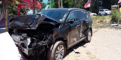 Senador Letelier sufre violento accidente de tránsito en Placilla