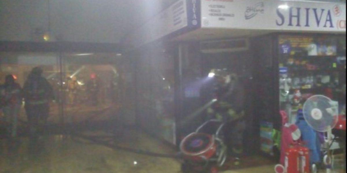 Incendio en la Zofri moviliza a cinco compañías de bomberos