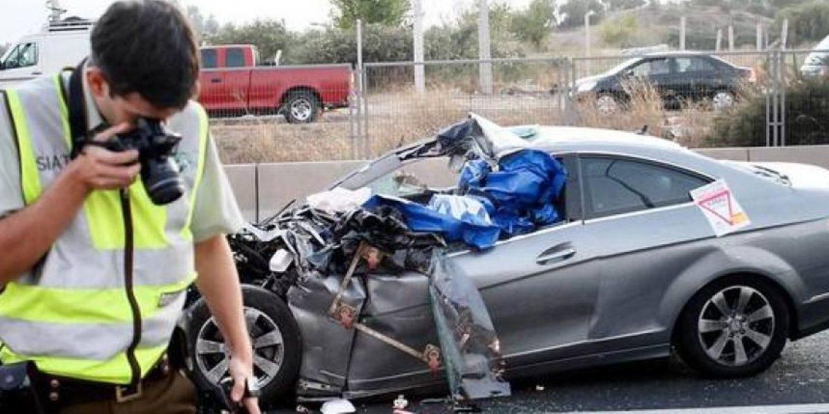 Seis personas murieron en dos accidentes carreteros en Antofagasta