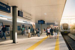 Así serían las estaciones del proyecto Foto:Grupo EFE. Imagen Por: