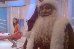 Pese a su fama, el Viejito Pascuero se pone nervioso antes de salir en TV Foto:Captura Facebook. Imagen Por: