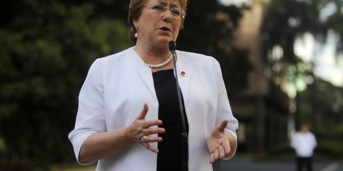 Viaje de la Presidenta Michelle Bachelet a La Araucanía ya tiene mes