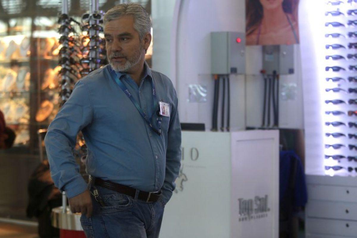 José Pérez, presidente de la Asociación de Funcionarios de la Dgac Foto:Aton Chile. Imagen Por: