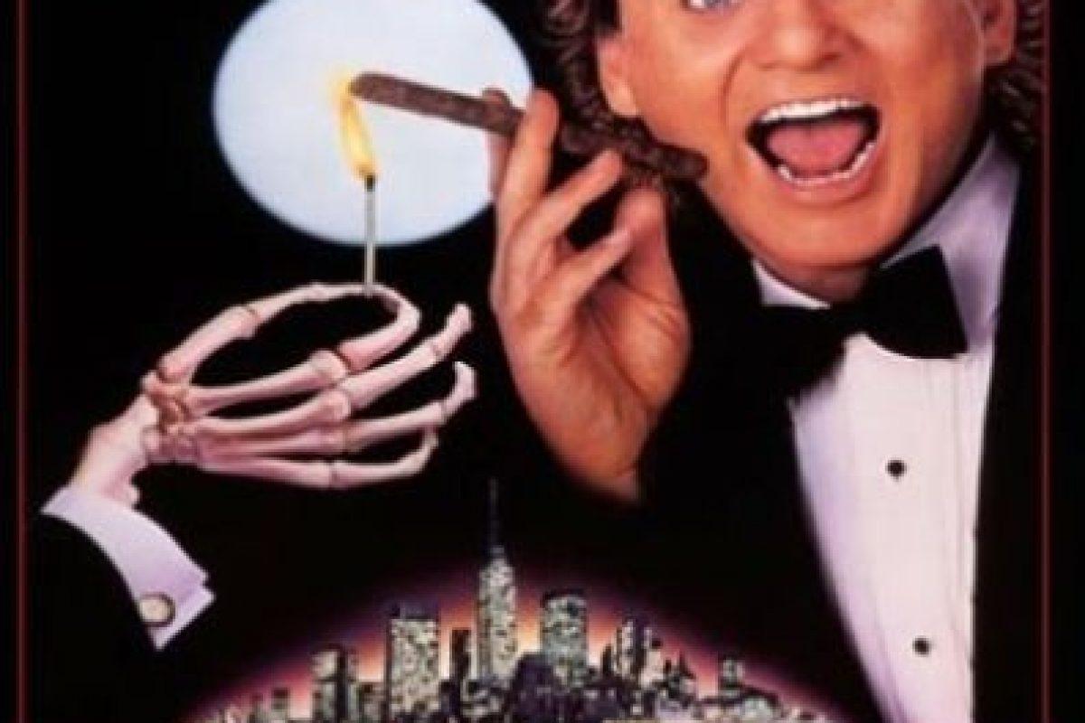 """5- Scrooged. Conocida en Latinoamérica como """"Los fantasmas contraatacan"""" y """"Los fantasmas atacan al jefe"""", es una comedia estrenada en 1988 que moderniza la novela de Charles Dickens, Cuento de Navidad. Foto:vía Netflix. Imagen Por:"""