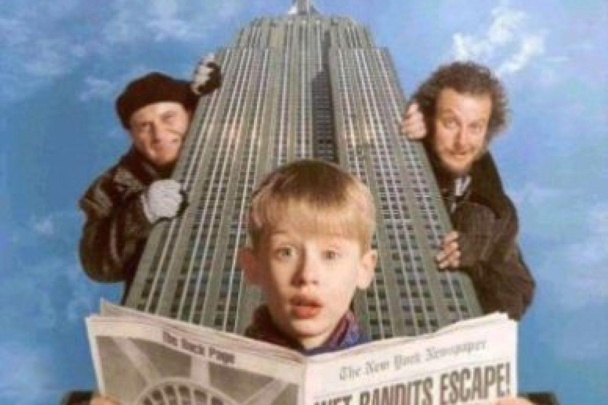 8- Mi pobre angelito 2. Es una película de comedia, secuela de la película Home Alone dirigida por Chris Columbus. Foto:vía Netflix. Imagen Por: