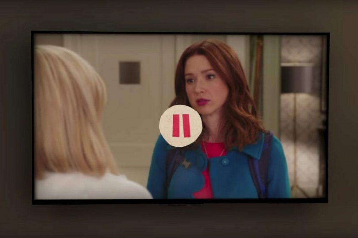 En ese momento pausan el episodio, película o documental que estaban viendo. Foto:Netflix. Imagen Por: