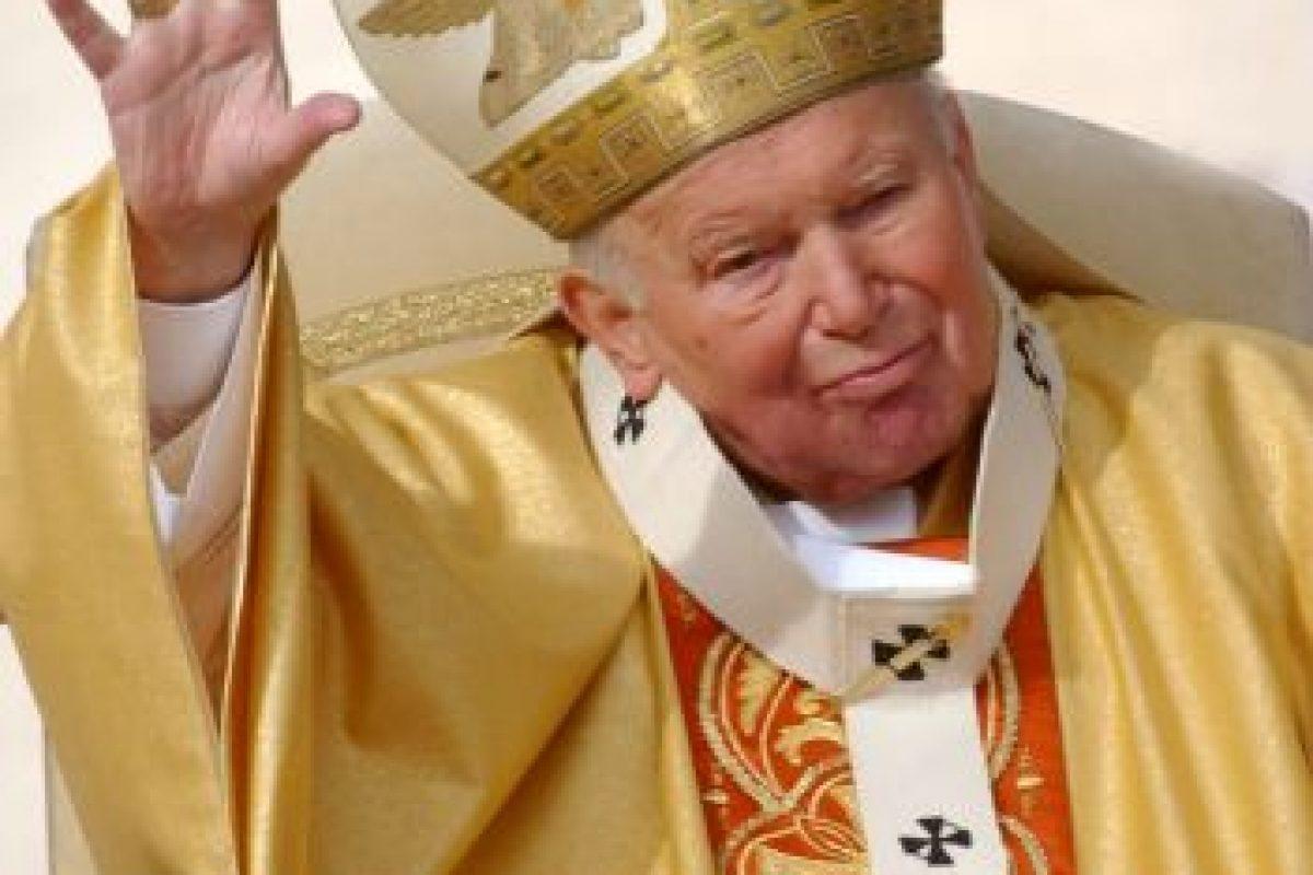 Durante el pontificado de Juan Pablo II Foto:Getty Images. Imagen Por: