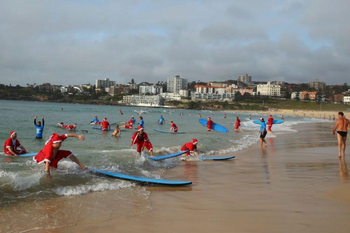 El clima estuvo a favor de todos los principiantes. Foto:Getty Images. Imagen Por: