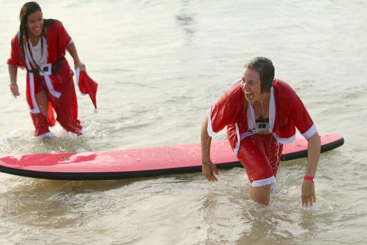 Los alumnos y maestros no dejaron de reír. Foto:Getty Images. Imagen Por: