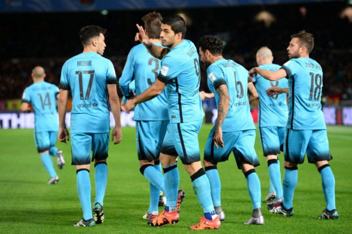3. Barcelona es, junto a Corinthians, el máximo ganador del torneo con dos estrellas (2009 y 2011) Foto:Getty Images. Imagen Por: