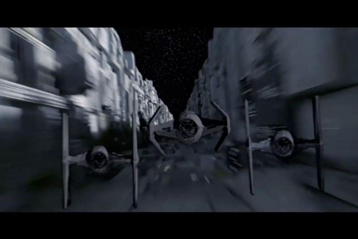 Así lucen las naves de combate TIE en la saga. Foto:Universal Studios. Imagen Por:
