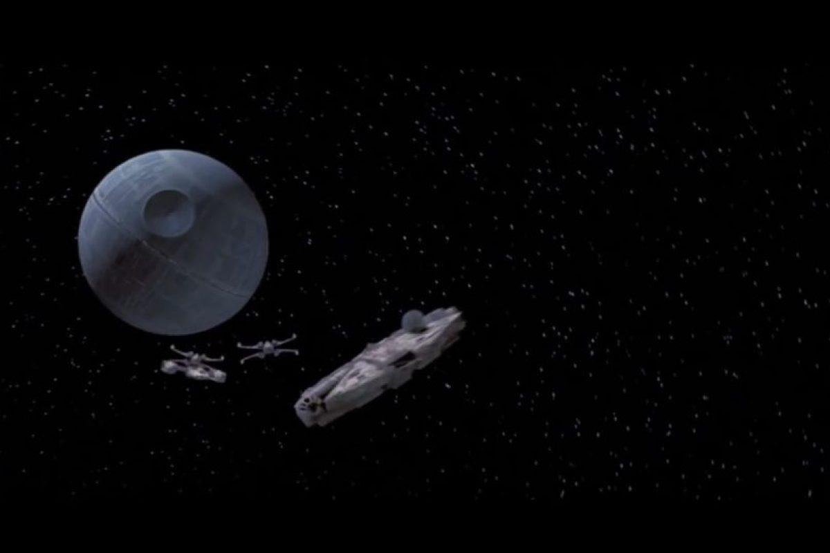 """La famosa """"Estrella de la muerte"""", propiedad de los antagonistas de la historia. Foto:Universal Studios. Imagen Por:"""