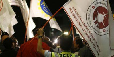 Trabajadores de la Dgac mantienen paralización ahora de carácter indefinida