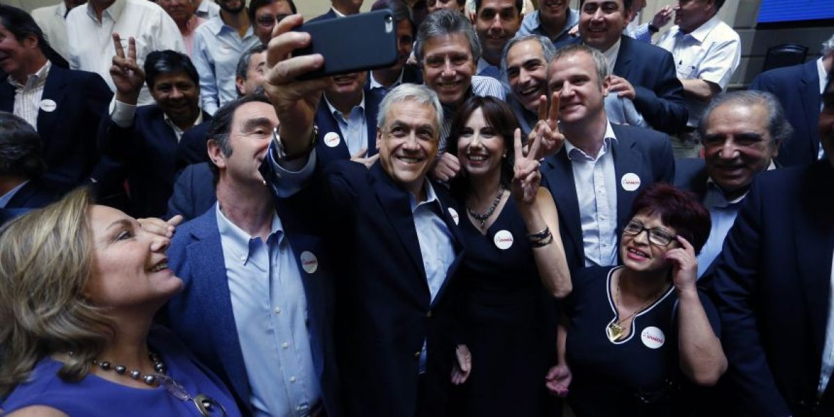 Piñera se roba el protagonismo en lanzamiento de Chile Vamos