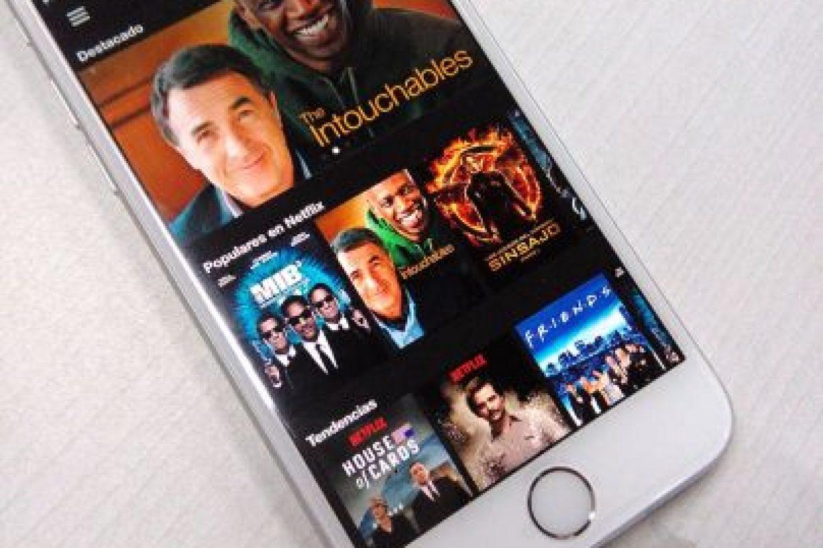 Mientras que el iPhone 6 solo permite eliminarlas una a una. Foto:Apple. Imagen Por: