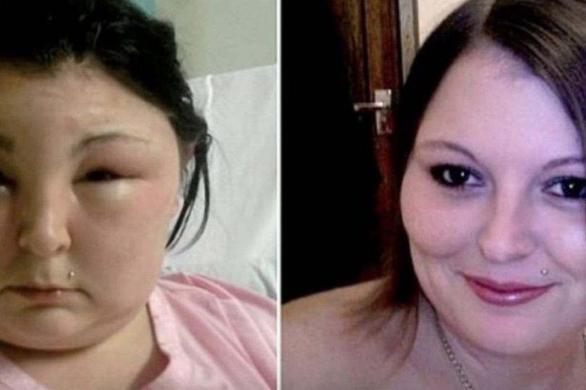 4. Carmen Rowe. Esta mujer de Reino Unido buscaba un cambio y se pintó el cabello. Foto:Vía Youtube. Imagen Por: