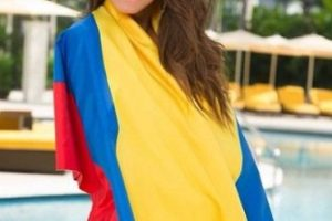 """""""Siempre supe que iba a ser reina"""", afirmó la colombiana a la revista """"Alo"""". Foto:vía instagram.com/paulinavegadiep. Imagen Por:"""