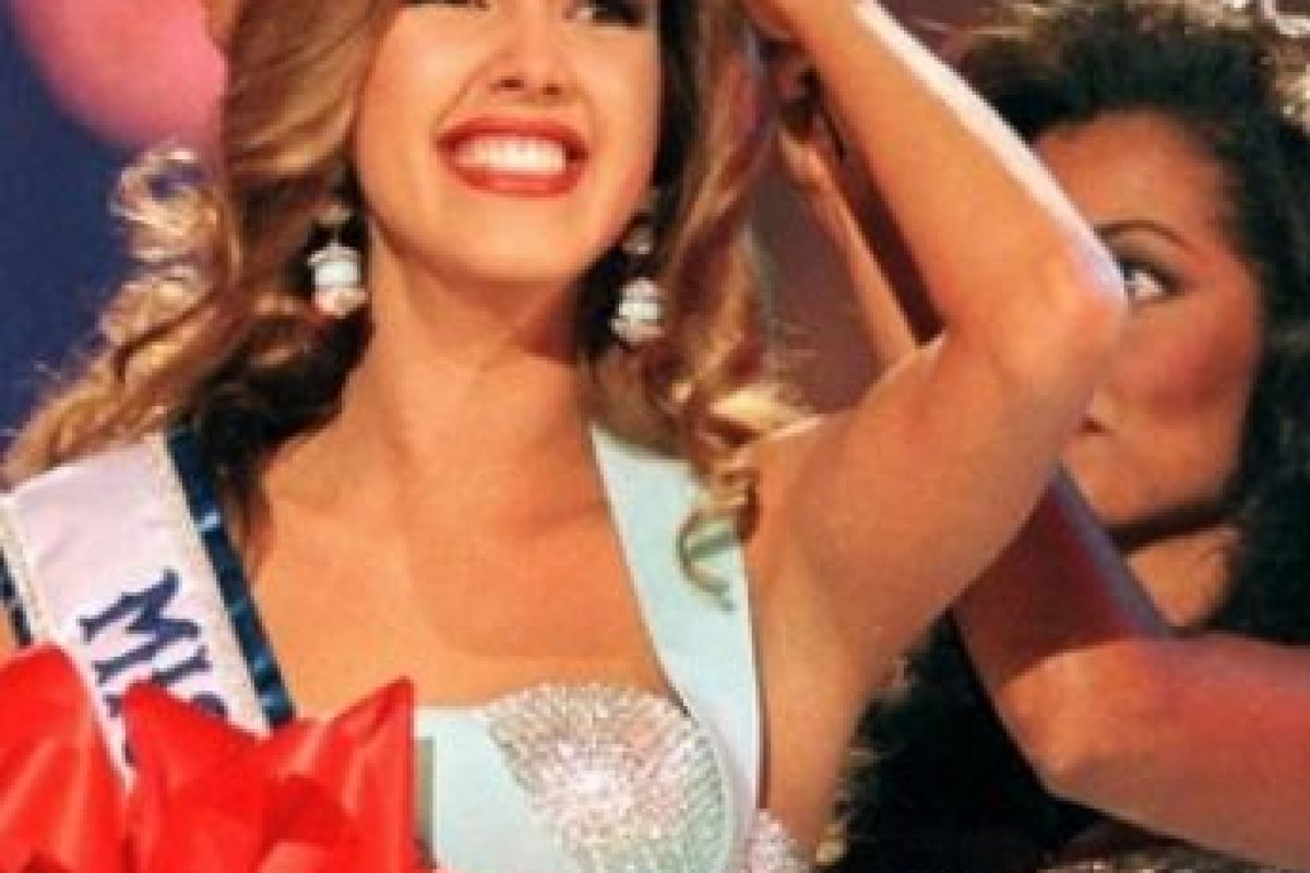 Alicia Machado – Miss Universo 1996 Foto:Miss Universe. Imagen Por: