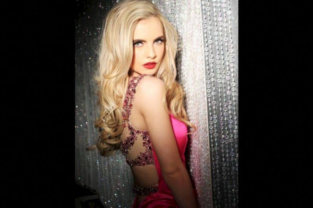 Joanna Cooper es Miss Irlanda Foto:Facebook.com/MissUniverse. Imagen Por:
