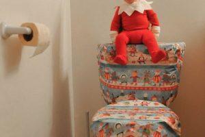Alan Lawrence decidió disfrazar a su bebé de cuatro meses de un dulce duende de la Navidad y este fue el resultado. Foto:Vía Instagram/@thatdadblog. Imagen Por: