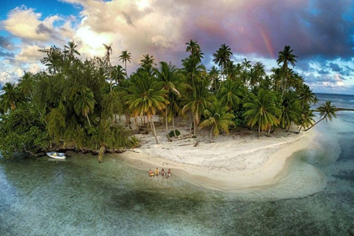Isla perdida Foto:Vía Dronestagr.am. Imagen Por: