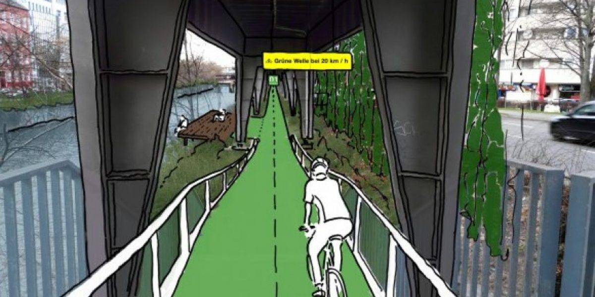 Esta es la ciclovía que buscan construir bajo una línea de tren