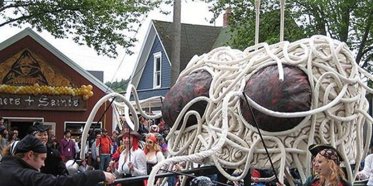 Muy freak: la Iglesia del Monstruo Espagueti Volador ya puede realizar matrimonios en Nueva Zelanda