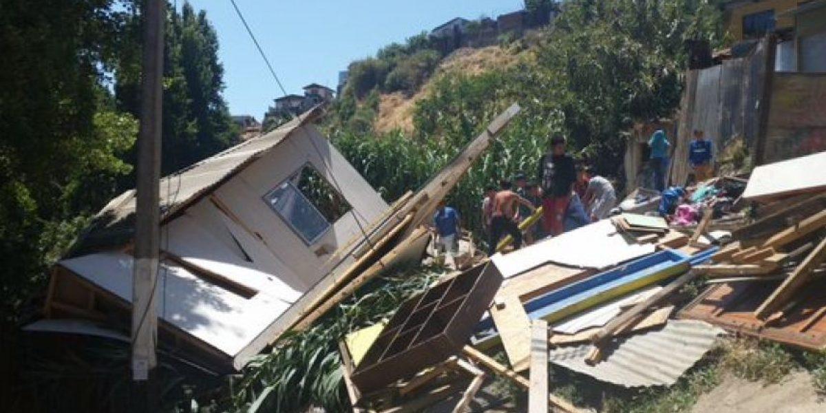 Familia que perdió su casa en un derrumbe no tiene dónde pasar la Navidad