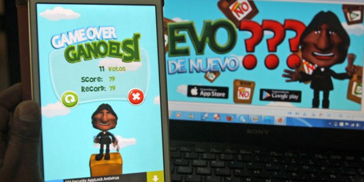 ¡Insólito! Evo Morales se convierte ahora en protagonista de juego para celular