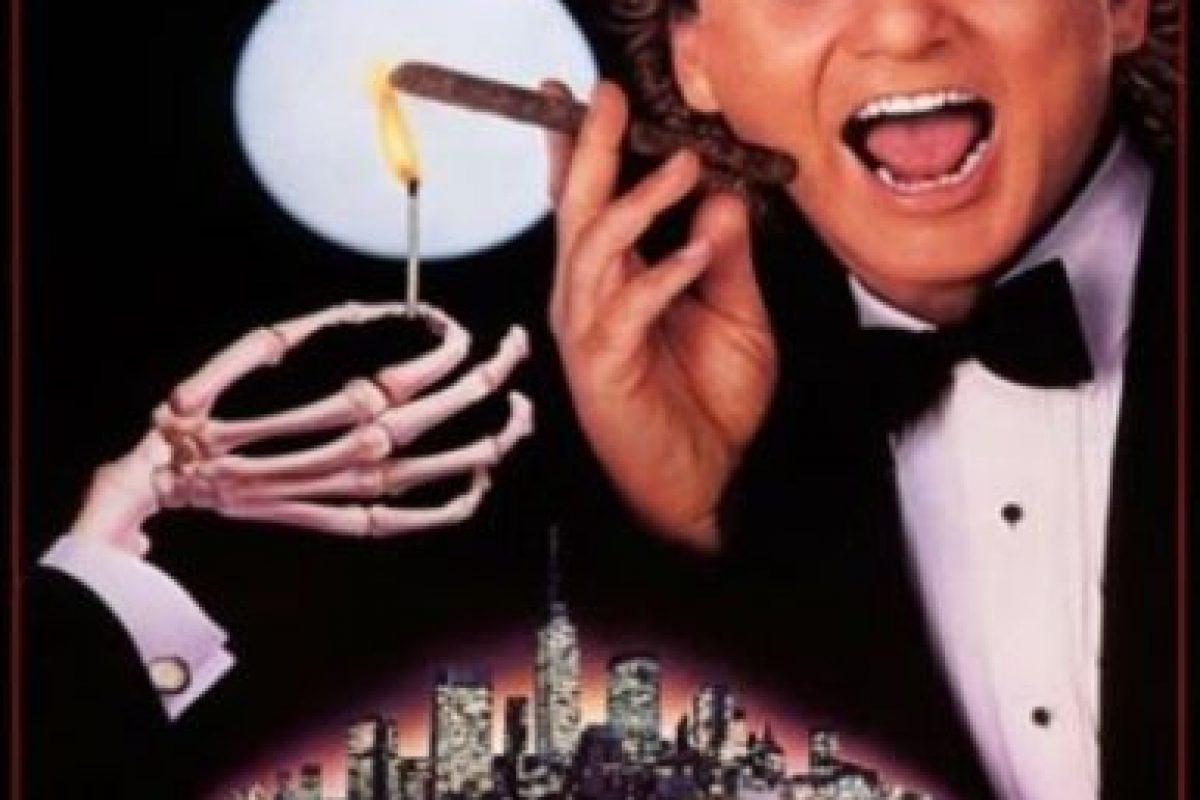 """6- """"Scrooged"""". Conocida en Latinoamérica como """"Los fantasmas contraatacan"""" y """"Los fantasmas atacan al jefe"""", es una comedia estrenada en 1988 que moderniza la novela de Charles Dickens, Cuento de Navidad. Foto:Mirage Productions. Imagen Por:"""