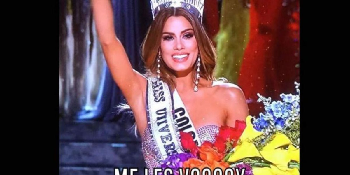 Los mejores memes de la falsa coronación de Colombia en Miss Universo