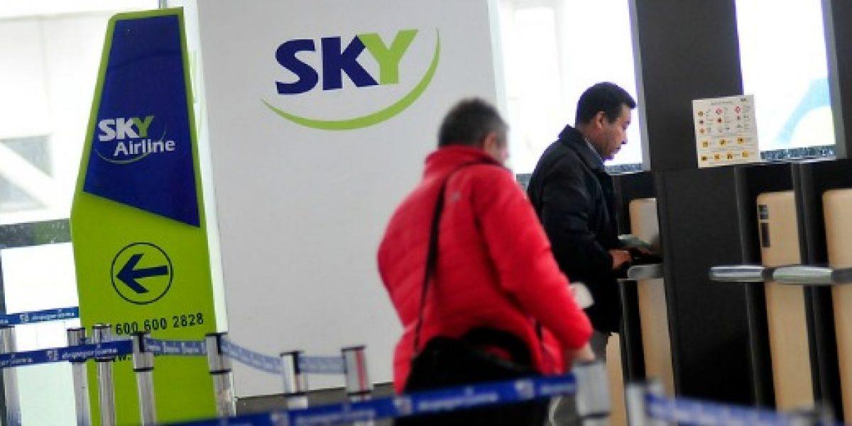 SKY opera vuelos de este lunes con normalidad