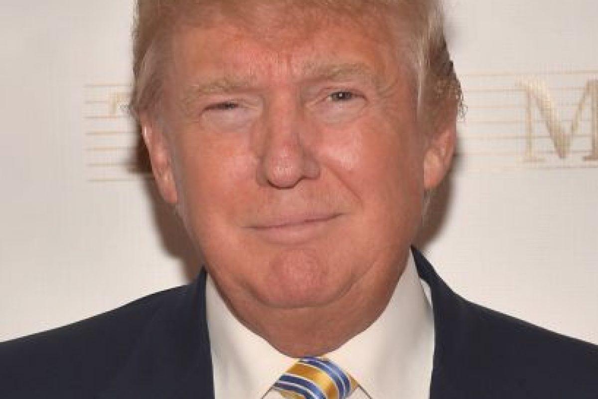 Como antiguo dueño de Miss Universo, Trump aseguró que son cosas que suceden en la televisión en vivo. Foto:Getty Images. Imagen Por: