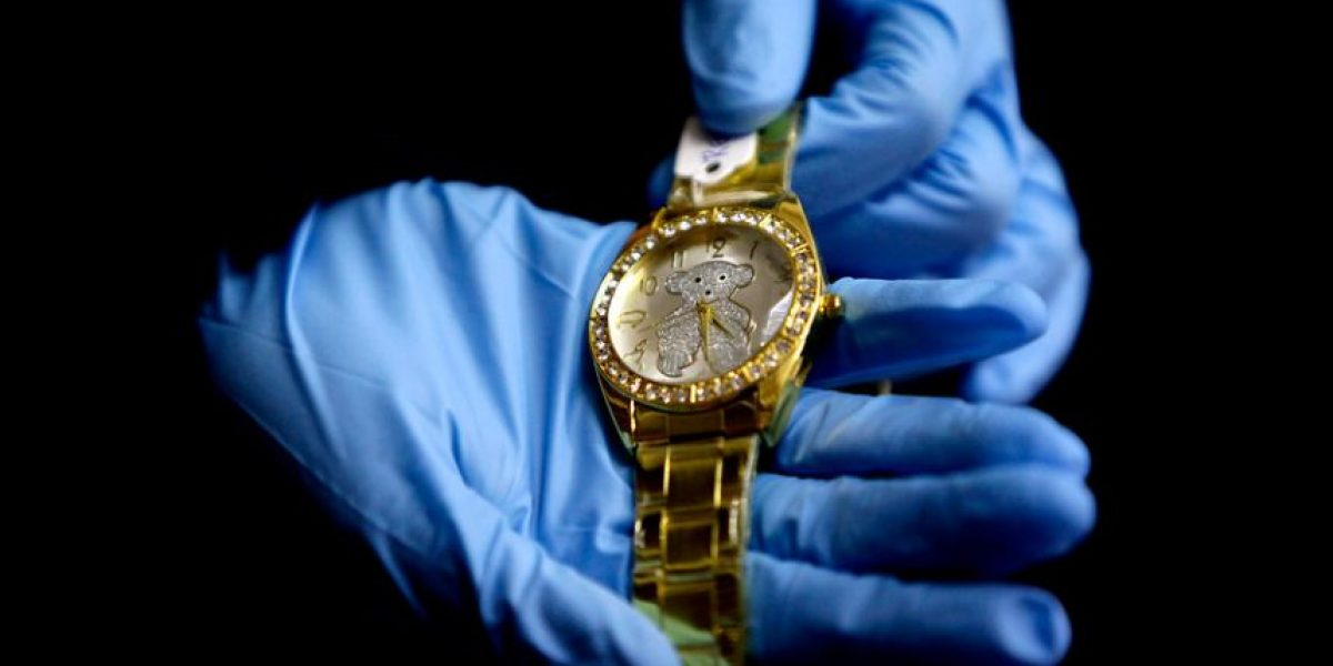 ¡No todo lo que brilla es oro! Incautan 384 joyas que eran falsas