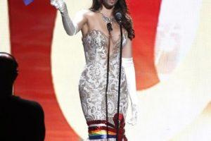 El bigote de Conchita Wurst Foto:Miss Universo. Imagen Por: