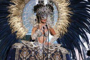 Y sus ojos se ocultaron. Foto:Miss Universo. Imagen Por:
