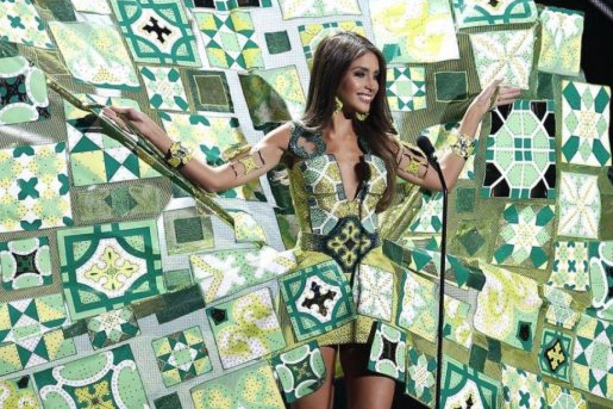 ¿Cubismo? Foto:Miss Universo. Imagen Por:
