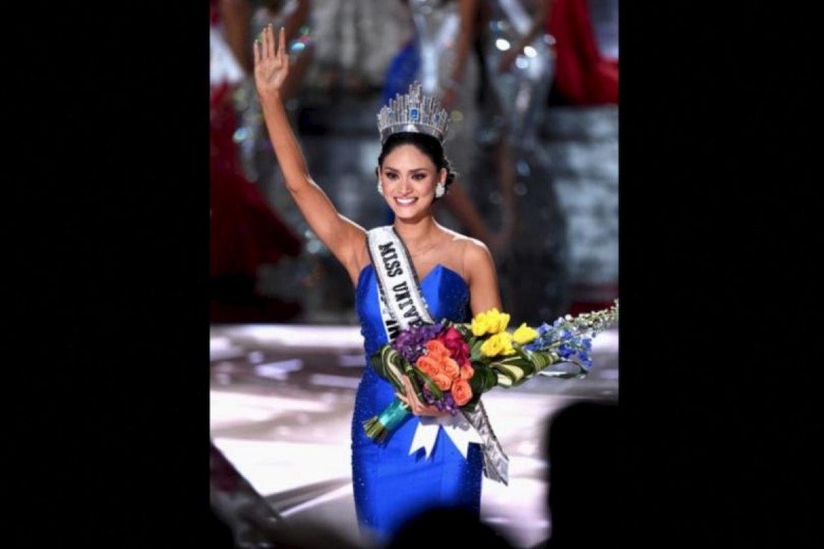 A pesar de eso, Pía Alonzo es la nueva Miss Universo 2015 Foto:Getty Images. Imagen Por: