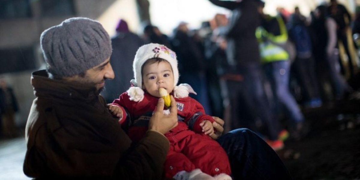 Un millón de migrantes llegaron a Europa por tierra y mar desde enero