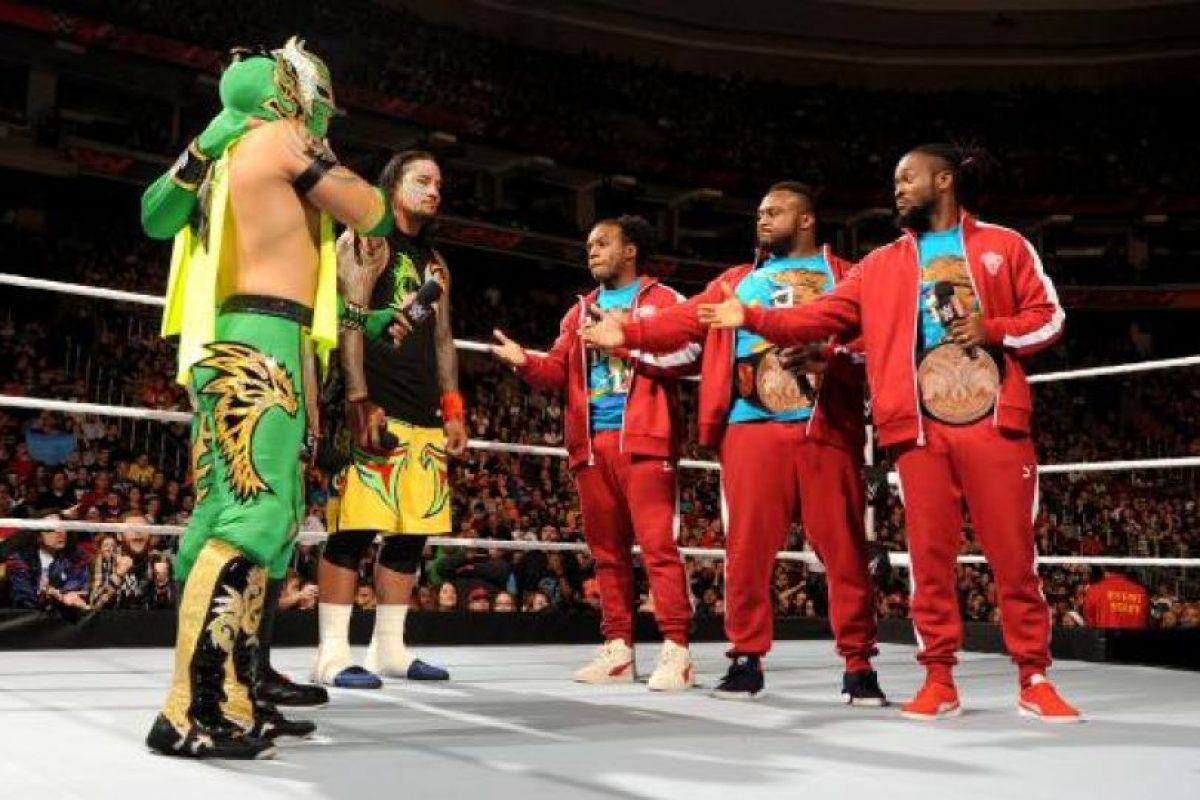 Big E forma parte del actual equipo Campeón de Parejas Foto:WWE. Imagen Por: