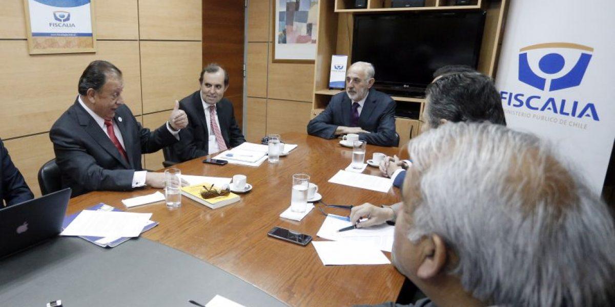 Dirigentes de organizaciones de camioneros se reunieron con el Fiscal Nacional