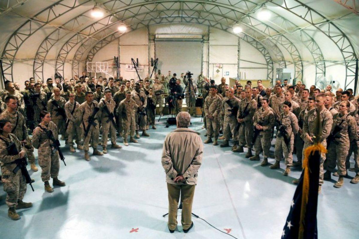 Y donde 90 miembros de las fuerzas de seguridad murieron en los últimos dos días Foto:Getty Images. Imagen Por: