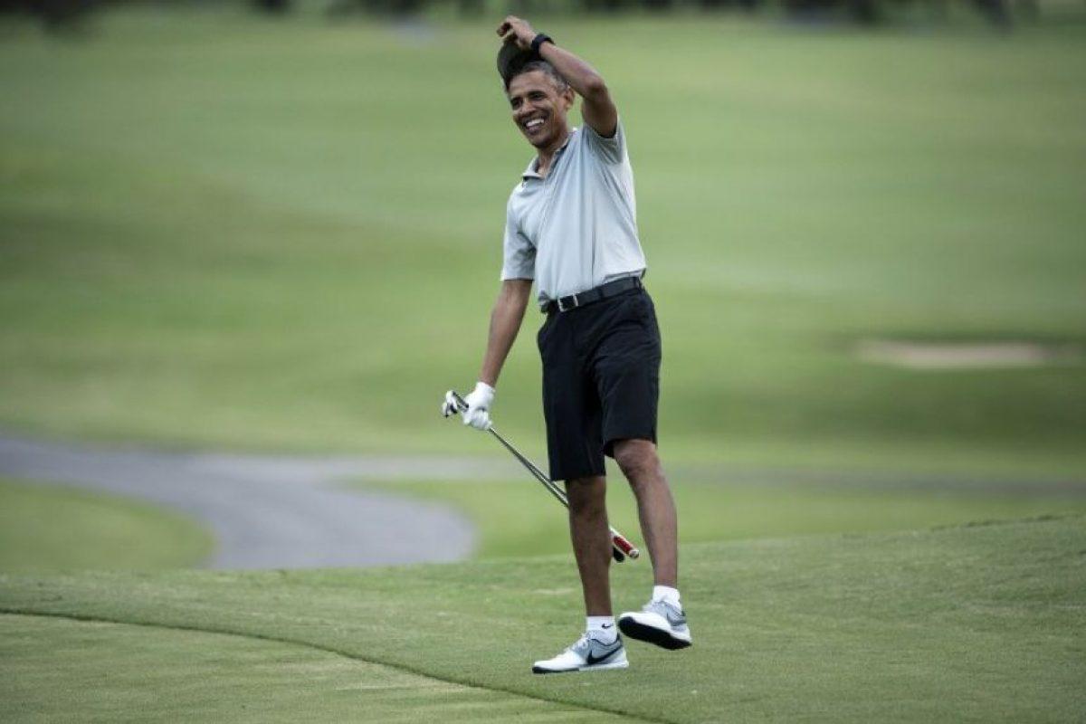 Para disfrutar partidos de golf y buenos momentos. Foto:AFP. Imagen Por: