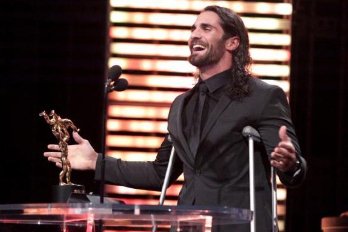 """Obtuvo el premio de """"Superestrella del año"""" Foto:WWE. Imagen Por:"""