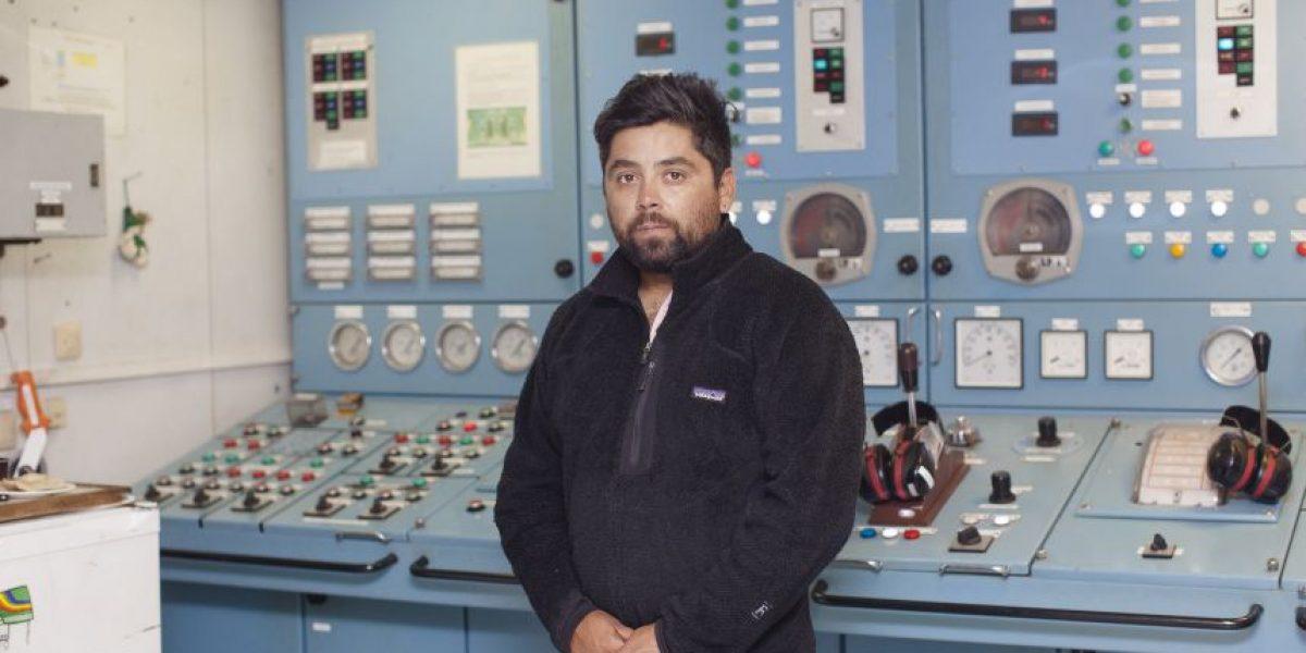 Andrés Soto: el único chileno a bordo del