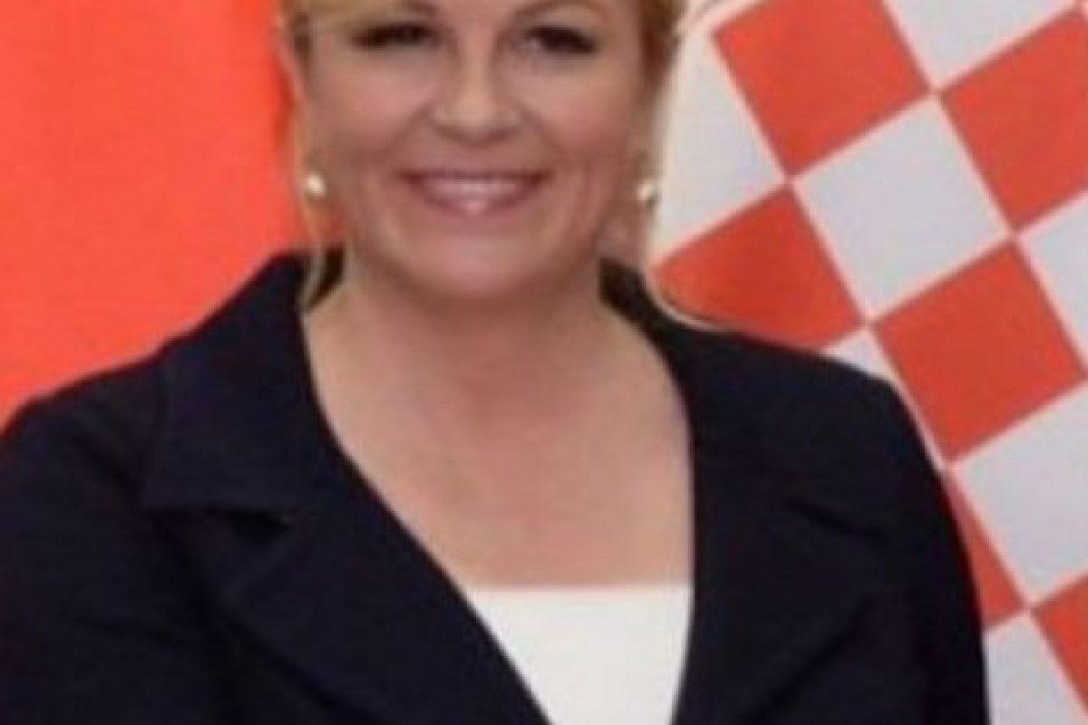 La presidenta de Croacia Foto:Reproducción. Imagen Por: