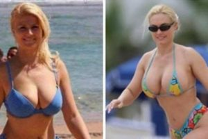 La presidenta de Croacia a la izquierda y a la derecha, la modelo de Playboy Foto:Reproducción. Imagen Por: