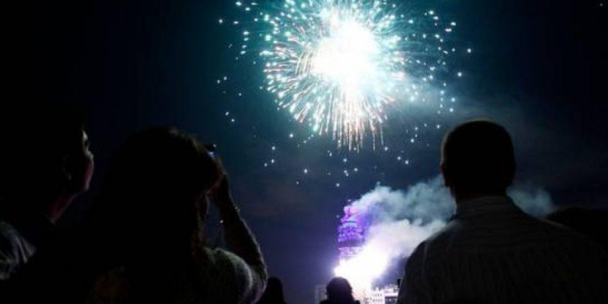 Más de una tonelada de fuegos artificiales por minuto lanzarán de la torre Entel